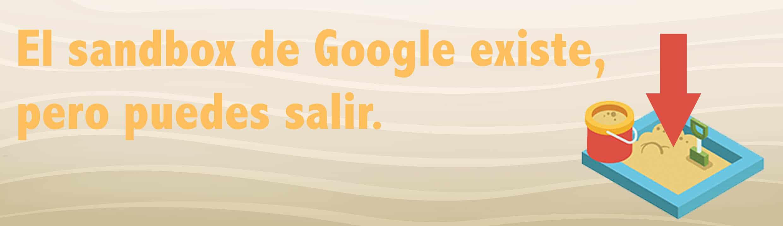 salir del sand box de google