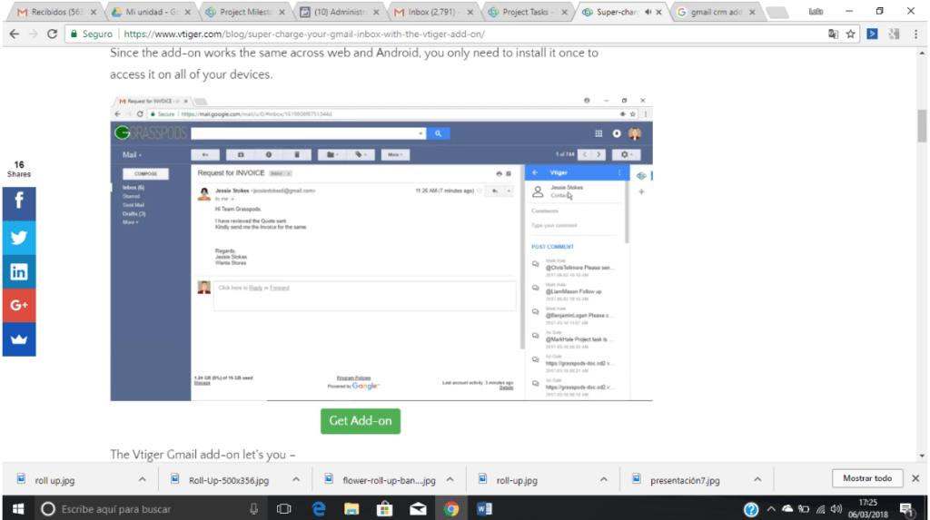 CRM para Gmail gratis