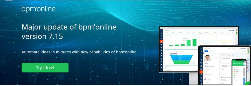 Nueva version 7.15 bpm online